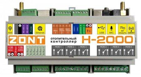 Контроллеры систем управления отоплением