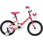 Детский велосипед Novatrack Twist 12 (2020) с корзиной