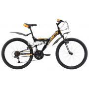 Подростковый горный (MTB) велосипед Black One Ice FS 24 (2017)