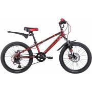 Подростковый горный (MTB) велосипед Novatrack Extreme 20 6 Disc (2019)