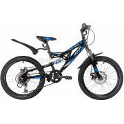 Подростковый горный (MTB) велосипед Novatrack Shark 20 6 Disc (2020)