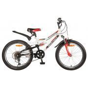 Подростковый горный (MTB) велосипед Novatrack Shark 20 6 (2020)