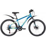 Подростковый горный (MTB) велосипед Stinger Caiman D 24 (2020) с крыльями