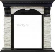 Портал Royal Flame Dublin угловой сланец белый
