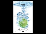 Проточный водонагреватель Zanussi GWH 10 Fonte Glass Lime
