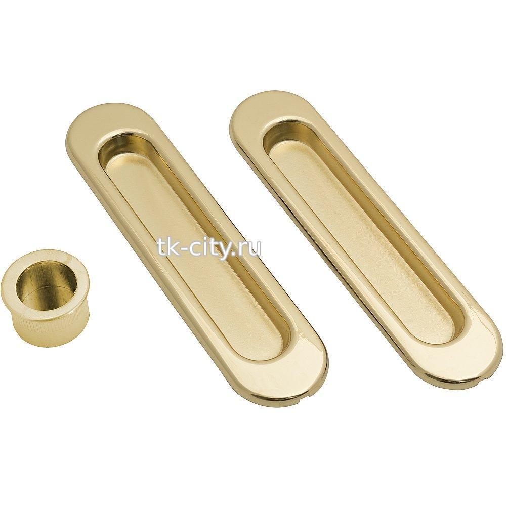 для складных дверей - Ручка Купе Bravo SL-1 G Золото
