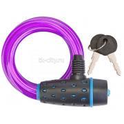 Велозамок STELS 87318 черно-пурпурный