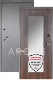 Входная металлическая дверь Аргус 1Люкс Про Милли коньяк калифорния/Серебро антик