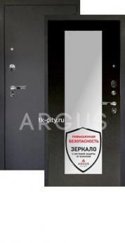 Входная металлическая дверь Аргус 1Люкс Про Милли венге/Чёрный шёлк